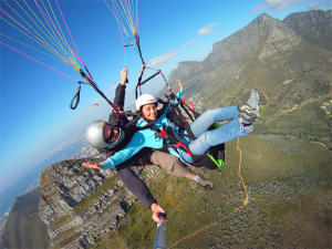 Paragliding of Signal Hill